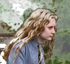 Mia Wasikowska as Alice in Wonderland