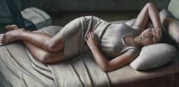 Morning painted by Dod Procter